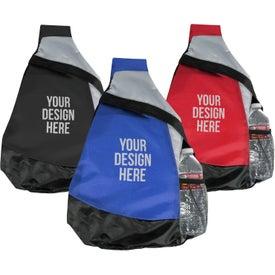 Logo Mustang Sling Backpack