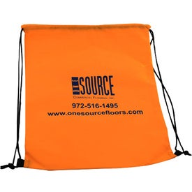 "Non-Woven Drawstring Backpacks (13.25"" x 17"")"