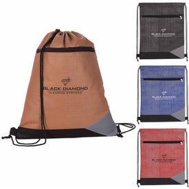 Non-Woven Tread Drawstring Backpack