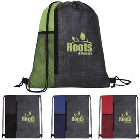Non-Woven Vertical Drawstring Backpack