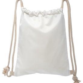 Oversized Canvas Drawstring Bag