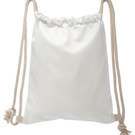 Oversized Canvas Drawstring Bag
