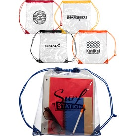 Plastic Drawstring Backpack