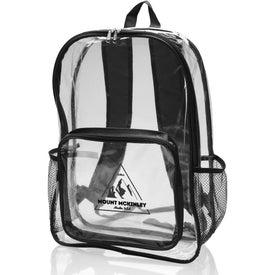 Pocket Clear Plastic Backpack