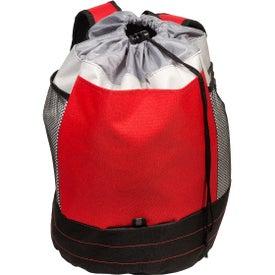 Branded Sand Backpack