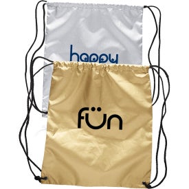Shiny Classic Drawstring Backpacks