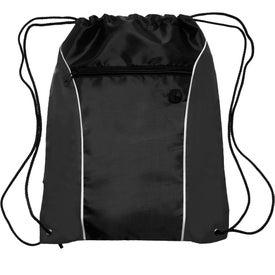 Side Color Drawstring Backpack