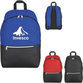 Silvered Zip Backpack