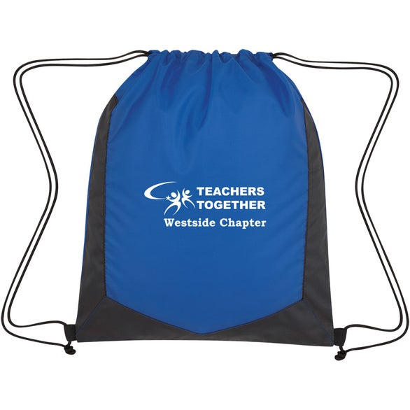 Blue / Black Spectator Drawstring Sports Pack