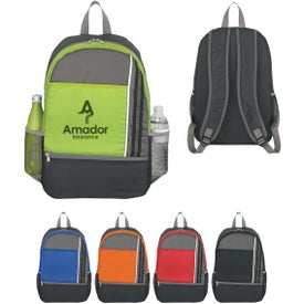 Double Zipper Sports Backpack