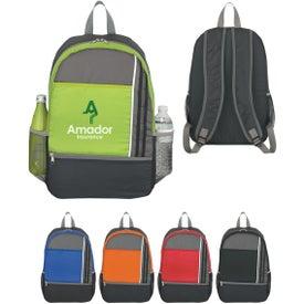 Monogrammed Sports Backpack with Adjustable Straps