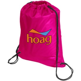 Super Saver String Backpack with Your Logo