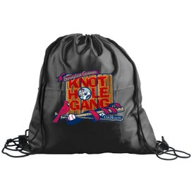 Trainer Cinch Sack Backpack (Full Color Logo)