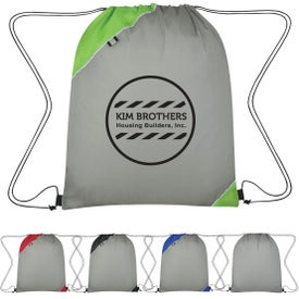 Triangle Corner Drawstring Sports Pack