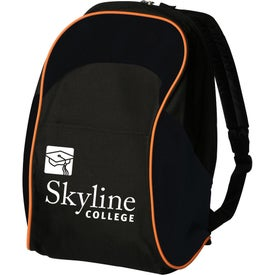 Two Tone School Backpack