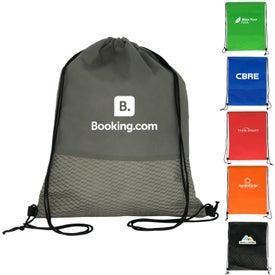 Wave Drawstring Backpack