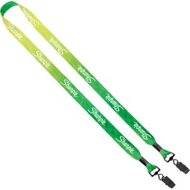 "3/4"" 2-Ended Dye-Sublimated Lanyard"