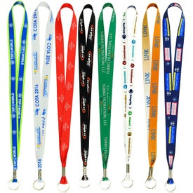 "Full Color Smooth Dye Lanyard (3/4"" x 36"")"