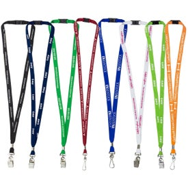 "Lanyard with Breakaway Safety Release (0.375"")"
