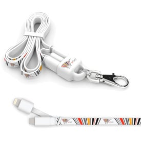 Lightning Charging Cable Lanyard