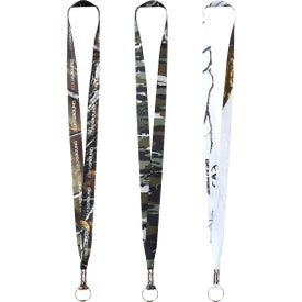 Realtree Dye Sublimation Lanyard