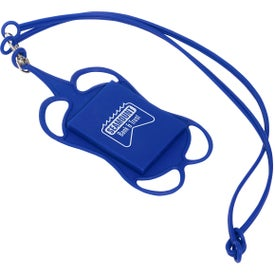 Silicone Lanyard Smartphone and Card Holders