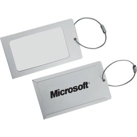 Aluminum Luggage Tags (4
