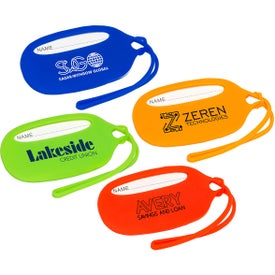 Durable Silicone Luggage Tags