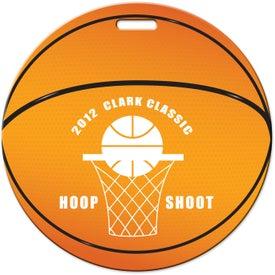 Luggage Tag (Basketball)