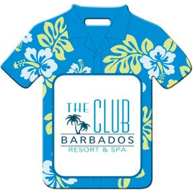 Luggage Tag (Hawaiian Shirt)