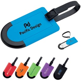 Colorful Plastic Luggage Tag
