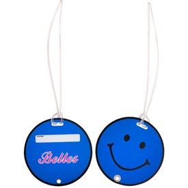 Smilin' Luggage Tag for Customization