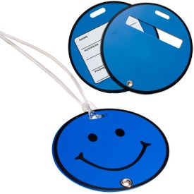 Advertising Smilin' Luggage Tag