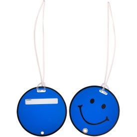 Imprinted Smilin' Luggage Tag