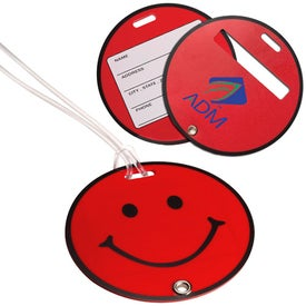 Smilin' Luggage Tag for Your Company