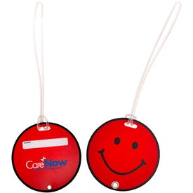 Branded Smilin' Luggage Tag