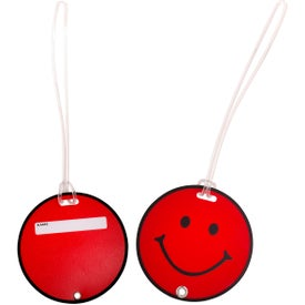 Promotional Smilin' Luggage Tag
