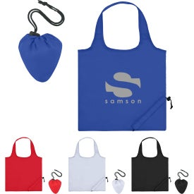 Foldaway Tote Bags with Antimicrobial Additive