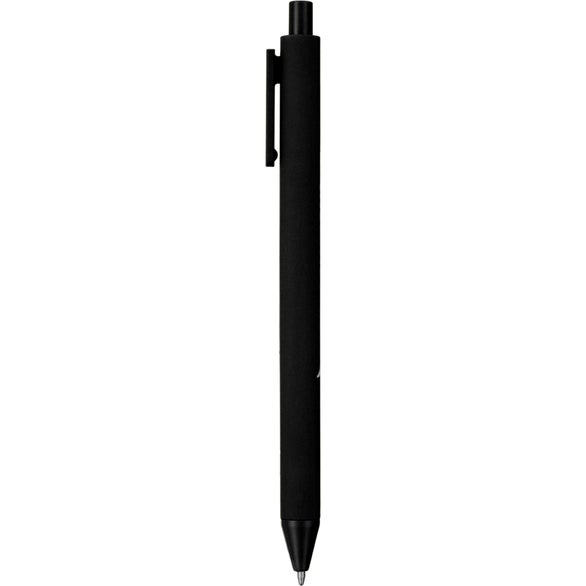 Black FUNCTION Soft Touch Semi Gel Ballpoint