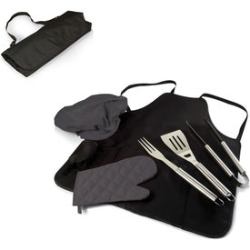 BBQ Apron Tote Bag and Pro Grill Sets