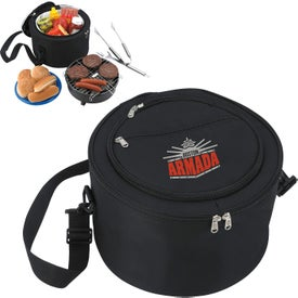 Koozie Portable BBQ with Kooler Bag