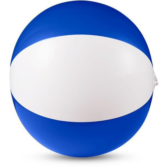 Blue / White Vinyl Beach Ball