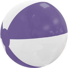 Beach Ball (Pad Print, Colors, No Quick Ship)