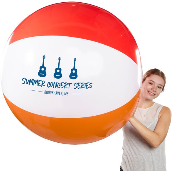 See Item Giant 6 Color Beach Ball