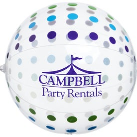 "Polka Dot Beach Balls (16"")"