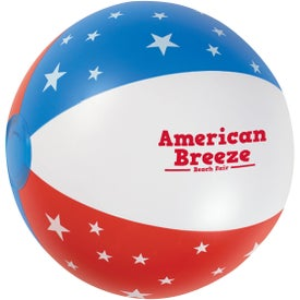 USA Stars Beach Ball
