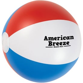 USA Stripes Beach Ball