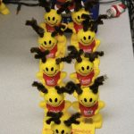 Smiley Reindeer Stress Balls!