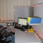 Derek's Own Personal Santa Lightshow