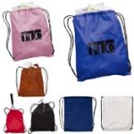 Nylon Drawstring Backpack from Quality Logo Products